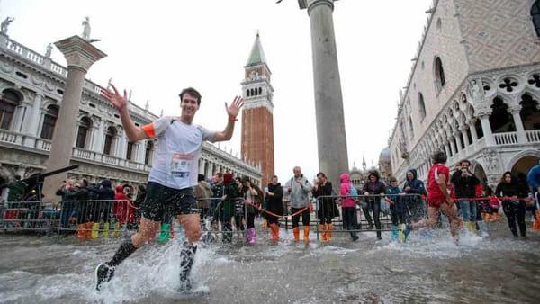Venice marathon photo by Venezia Today