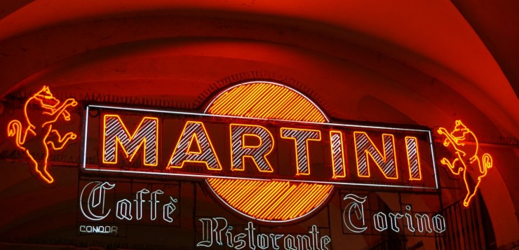 Martini sign Turin