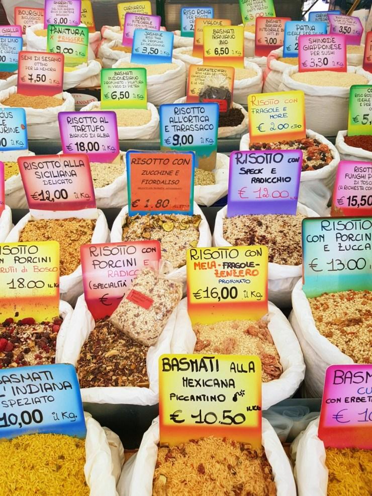 Markets in Padua: Piazza della Frutta