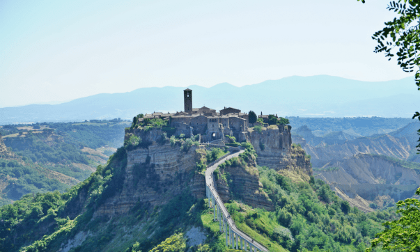 To stay in Civita di Bagnoregio