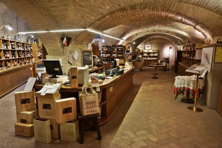 Emilia Romagna regional wine shop