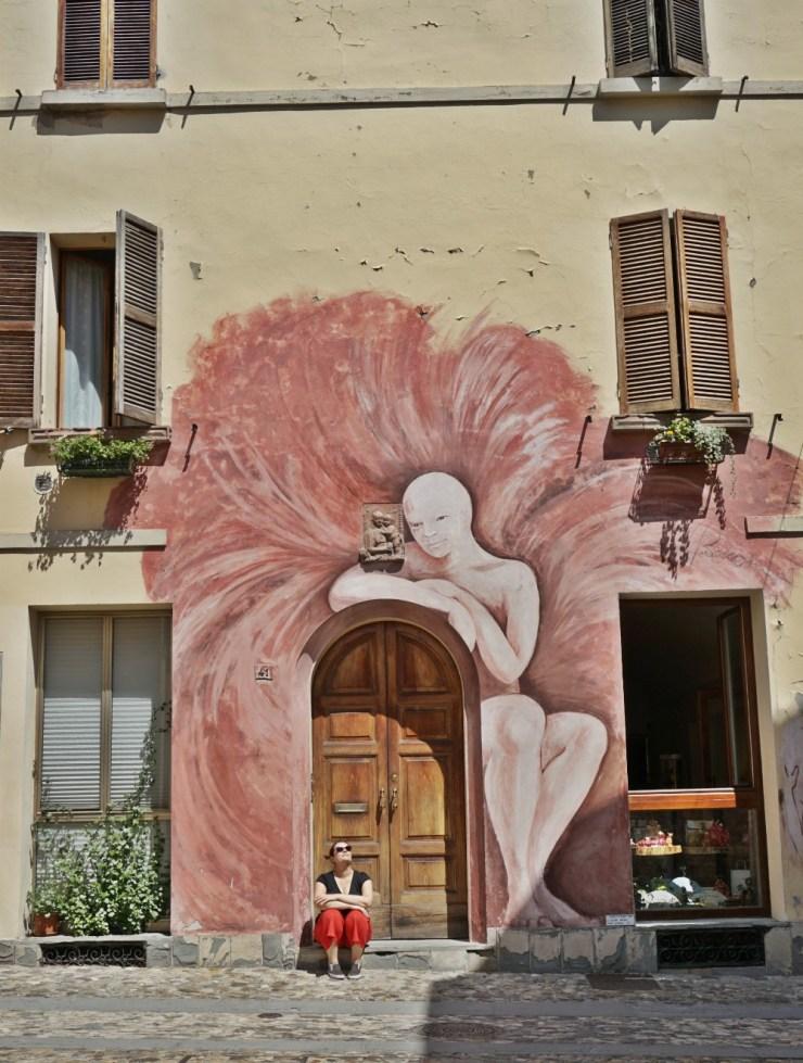 The Angel of Dozza by Giuliana Bonazza