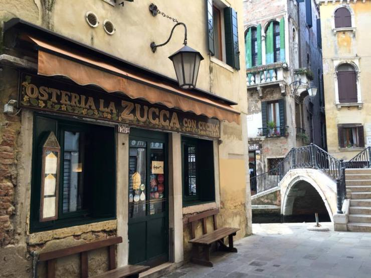 Photo @La Zucca Venice, Vegetarian restaurants in Venice