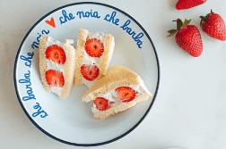 Strawberry sando ricetta italiana