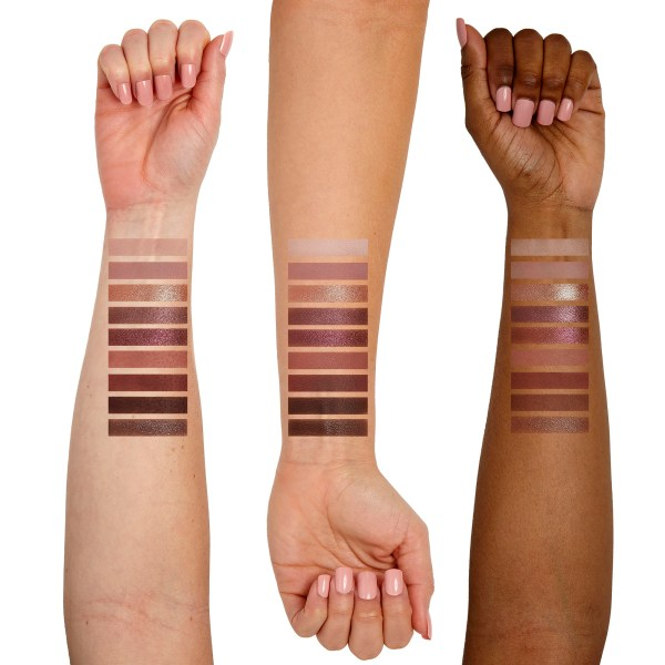 Sigma Beauty Hazy Palette Arm Swatches