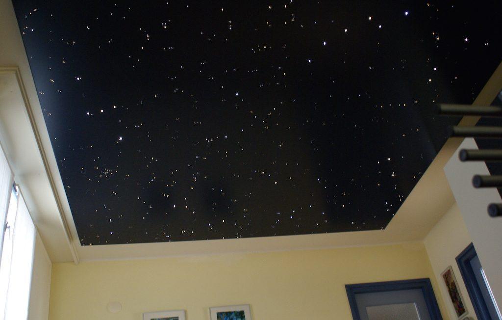 sternenhimmel schlafzimmer LED decke sterne  MyCosmos