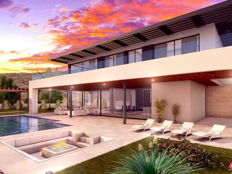 Stunning villa on elevated plot La Cala Golf