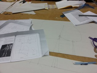 drafting the doublet pattern