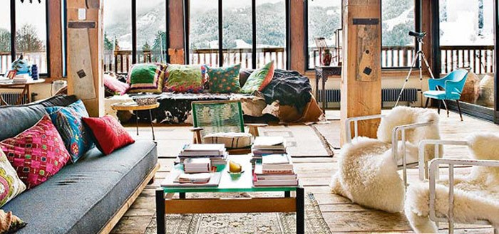 Bohemian chalet in the beautiful French Alps | My Cosy Retreat