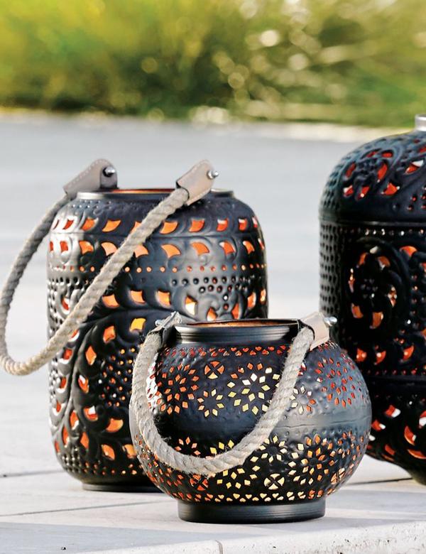 Stunning outdoor coastal lanterns | My Cosy Retreat