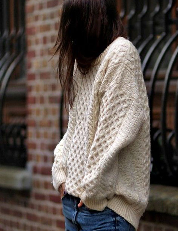 Winter mood: Oversized knit sweaters | My Cosy Retreat