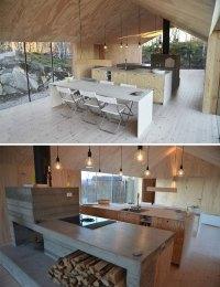 Minimalist mountain cabin in Norway