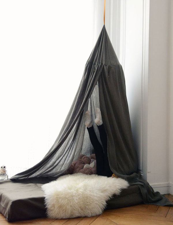 10 awesome tent design ideas for kids room   My Cosy Retreat