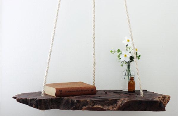 Adorable DIY hanging bedside table | My Cosy Retreat