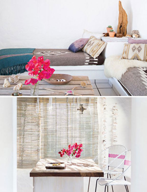 Serene bohemian beach house in Mexico | My Cosy Retreat
