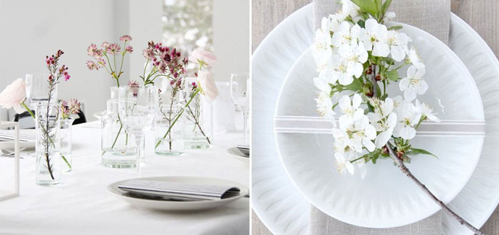 7 gorgeous spring table settings | My Cosy Retreat : spring table settings - Pezcame.Com