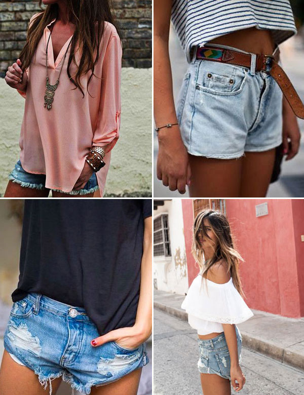 13 cute ways to style your favorite denim shorts this summer | My Cosy Retreat