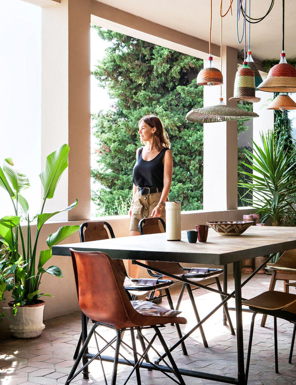 Emma François' bohemian chic home in Marseille | My Cosy Retreat