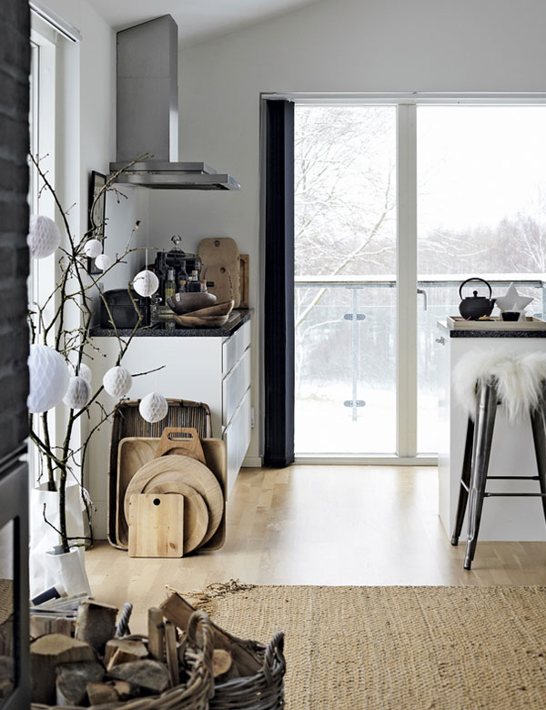Gorgeous ustic Christmas decoration in a lovely Danish home | My Cosy Retreat