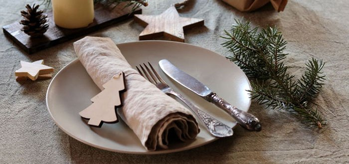 A natural Christmas tablescape   My Cosy Retreat