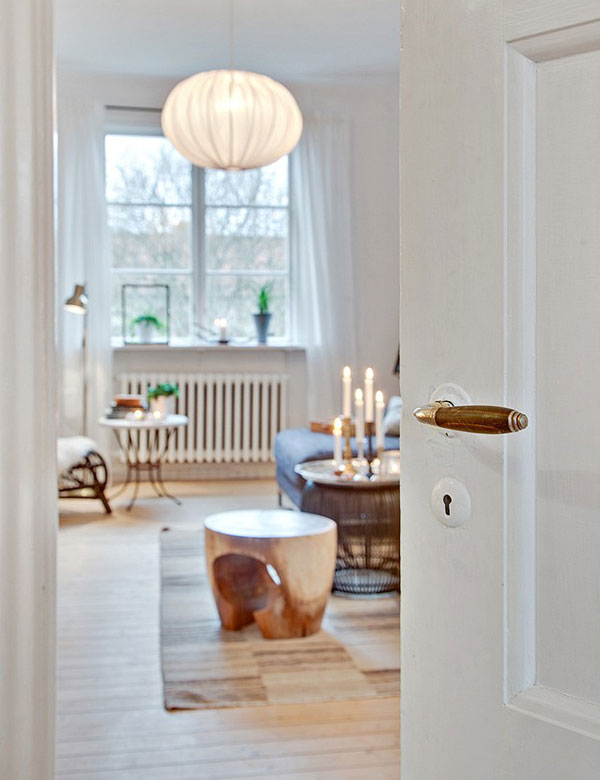 Romantic Scandinavian home in Gothenburg, Sweden | My Cosy Retreat