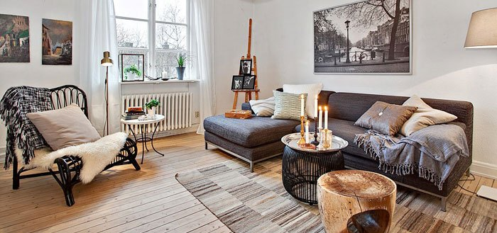 Romantic Scandinavian home in Göteborg, Sweden | My Cosy Retreat