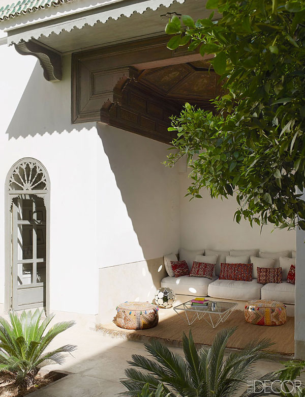 A beautiful and serene Moroccan hotel in Marrakesh | My Cosy Retreat