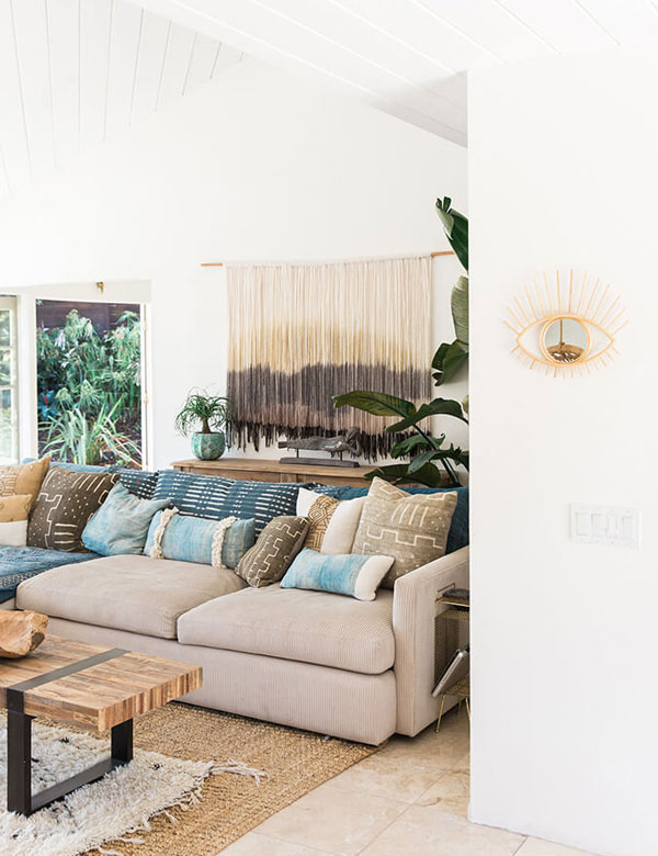 Designer Jody Olivier's peaceful bohemian bungalow | My Cosy Retreat