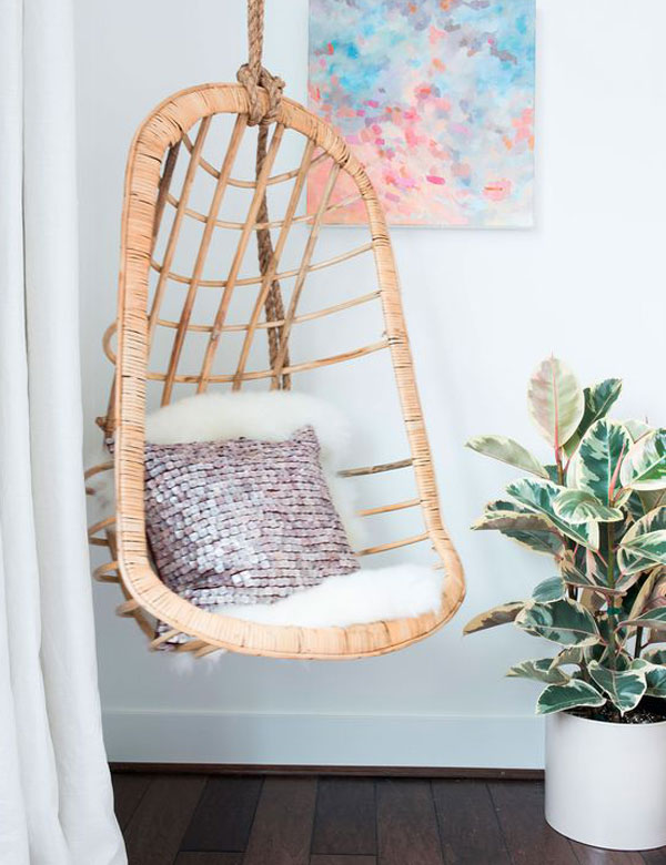 Merveilleux ... 8 Awesomely Beautiful Indoor Swing Chairs | My Cosy Retreat ...
