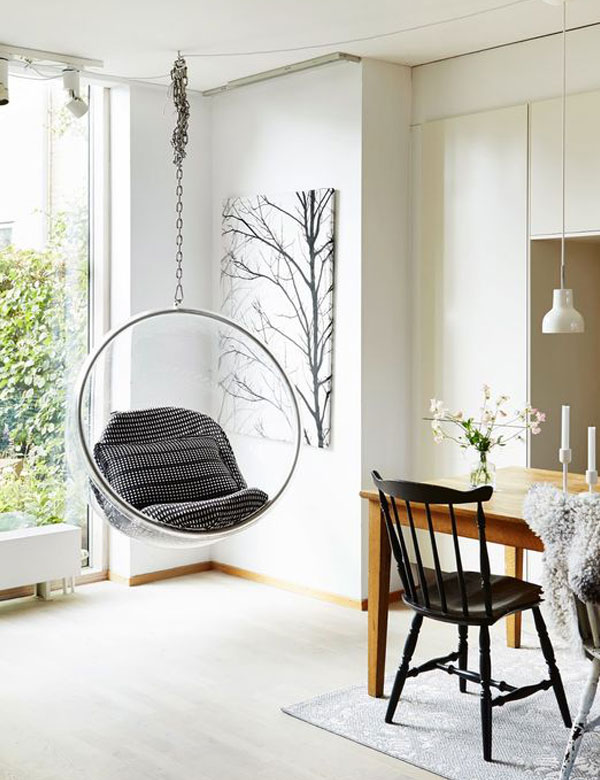 Indoor Swing Chairs Inspirations For Your Home Decor