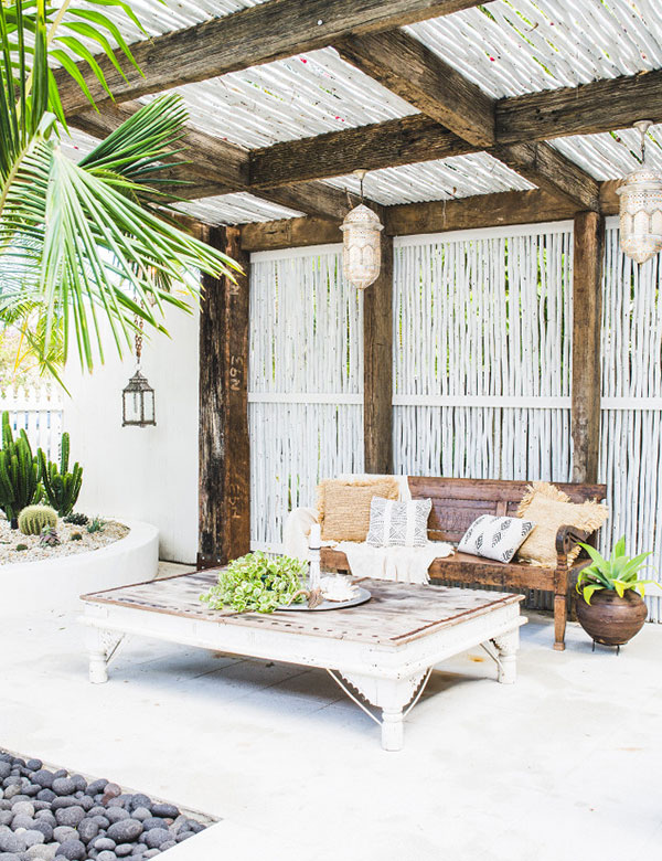 12 dreamy bohemian outdoor spaces | My Cosy Retreat