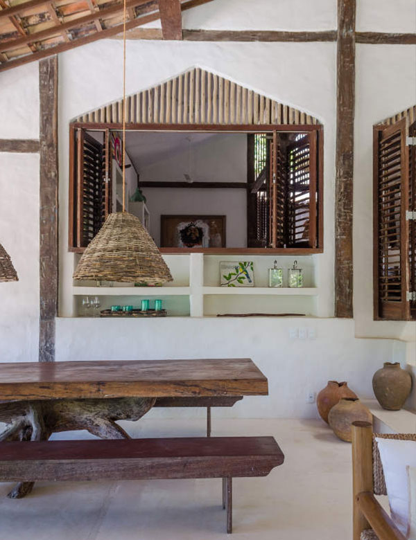 Casa Tiba, a dreamy bohemian chic house for rent in Brazil | My Cosy Retreat