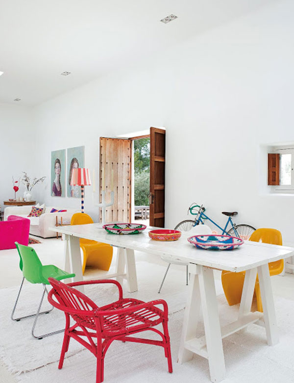 A happy colorful summer home on Ibiza   My Cosy Retreat