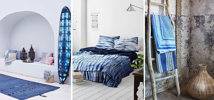 Beautiful indigo coastal decor inspirations | My Cosy Retreat