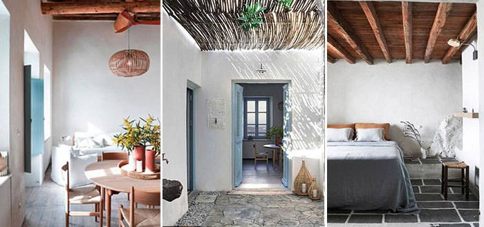 A 19-century summer home on the Greek island of Milos | My Cosy Retreat