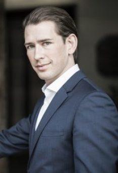 Austrian OVP leader Sebastian Kurz
