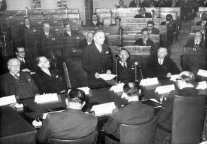 Spaan presenting European Constitution