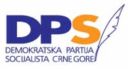 montenegrin democratic party of socialists logo