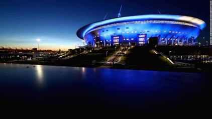 St. Petersburg Stadium, Saint Petersburg, Russia.