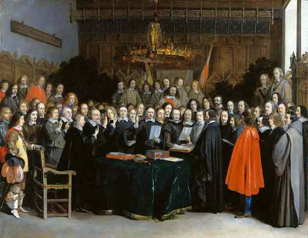 The Ratification of the Treaty of Westphalia, 15 May 1648 (1648)