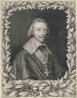 Cardinal Richelieu by Robert Nanteuil