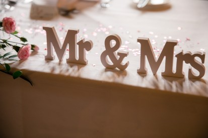 wedding suppliers - mr and mrs