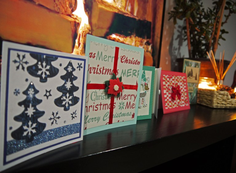 easy Christmas card ideas - my country life blog
