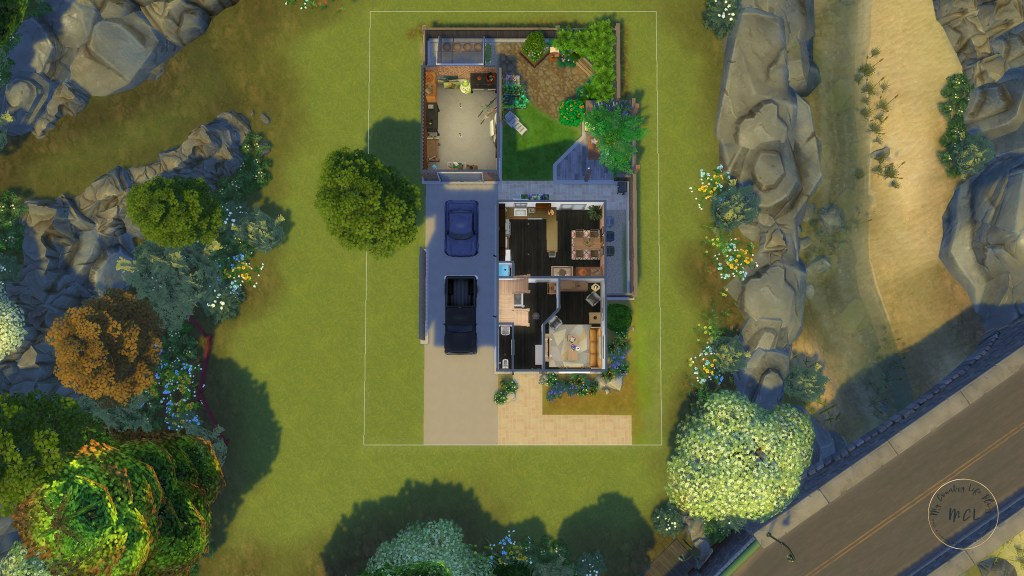 sims 4 house ideas - my country life 3