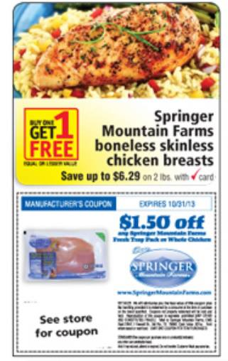 springer coupon