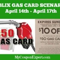 PUBLIX GAS CARD SCENARIOS for April 14th – 17th!!