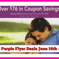 Publix Purple Flyer Matchups and Deals June 16th – 29th!
