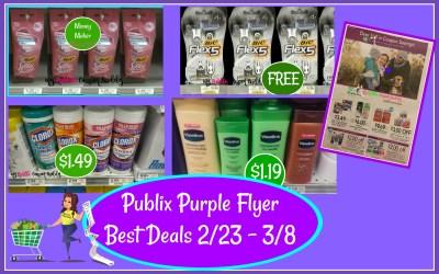 Purple Flyer Best Deals 2/23 -3/8