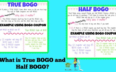 What is True BOGO and Half BOGO?
