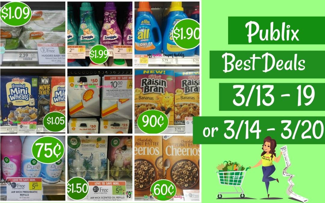 Publix Weekly Sale Best Deals 3/13 – 19 or 3/14 – 3/20